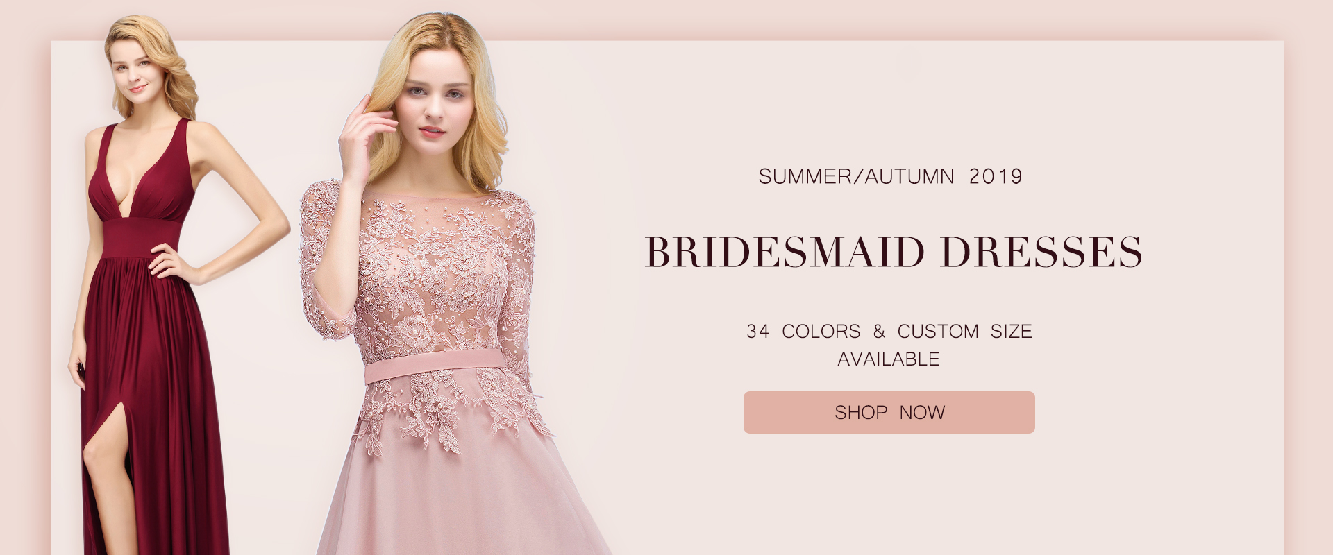 New in bridesmaid dress