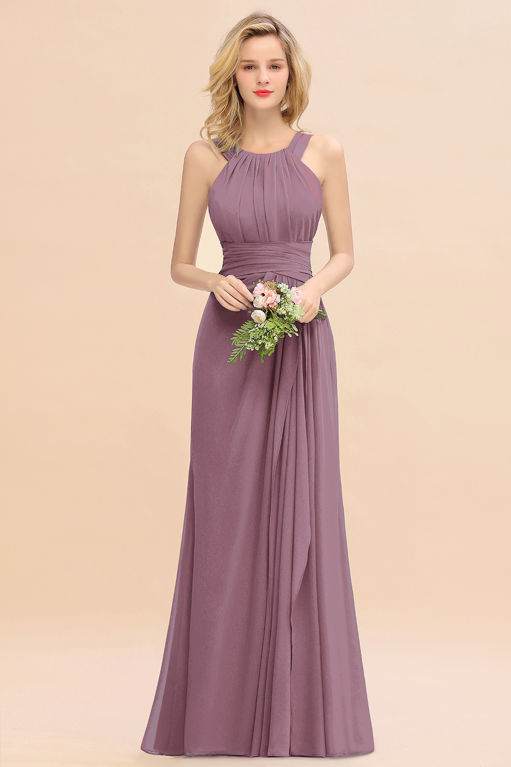 wisteria bridesmaid dress