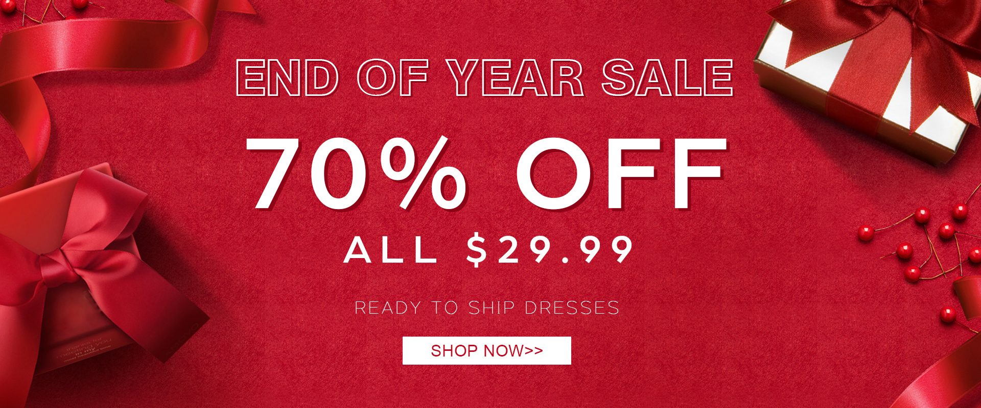 BM Bridal Year End Sale - Ready to Ship Dresses JUST $29.99!