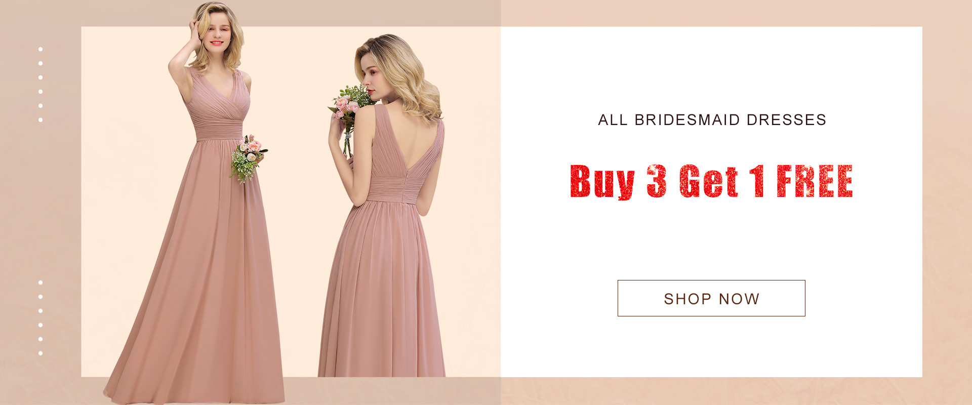 bridesmaid dress on sale