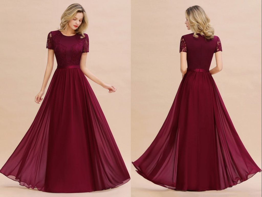 The exquisite lace and pattern on the bodice make this dress much unique than other styles. It is completely timeless and will be in trends in future years!!| Most Favorite Bridesmaid Dresses On Bmbridal