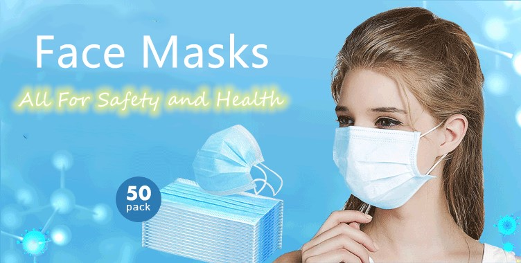 Keep safe and healthy with a face mask