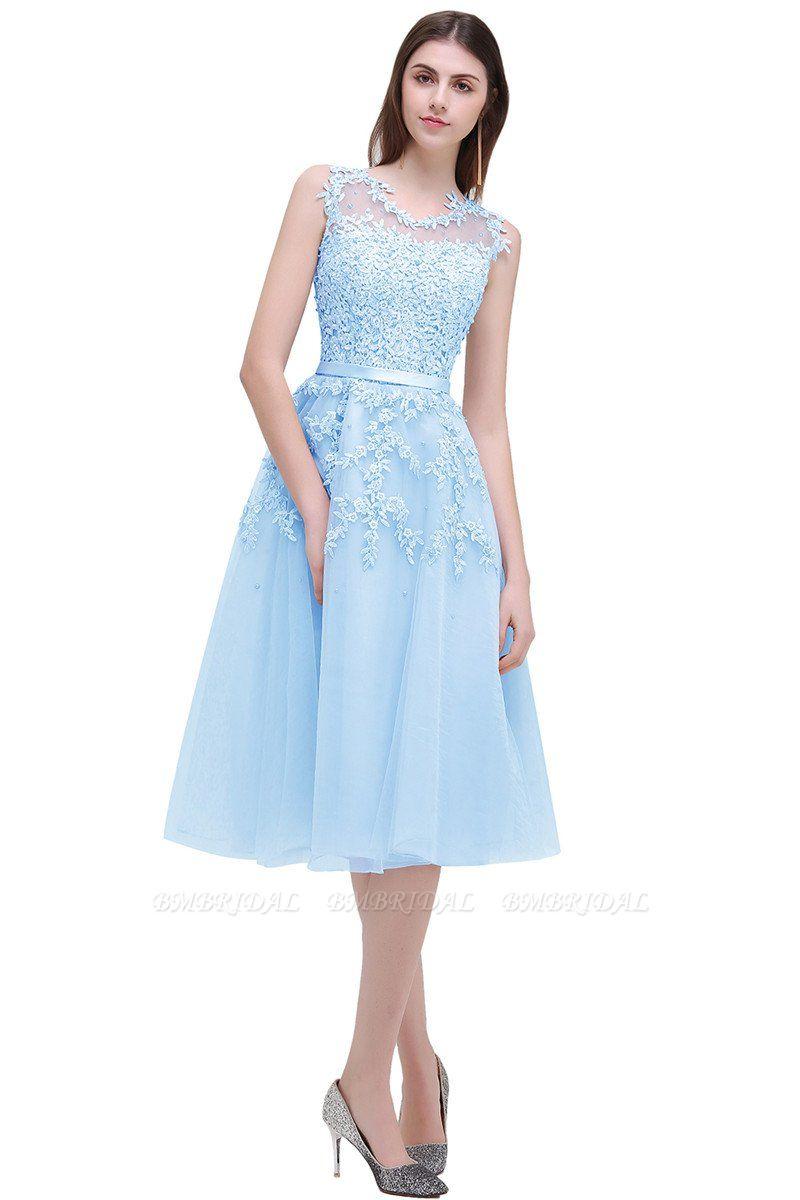 Gorgeous Sleeveless Lace Appliques Short Party Dress Online