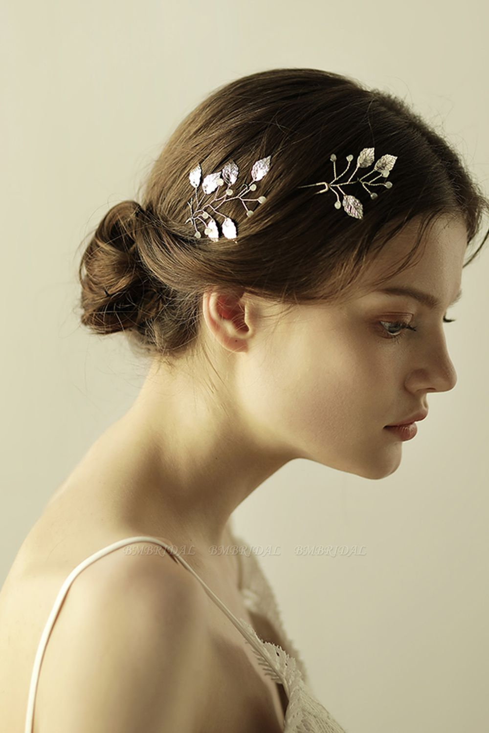 BMbridal Beautiful Alloy Daily Wear Hairpins Headpiece with Imitation Pearls