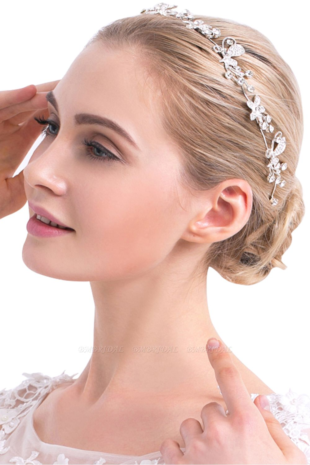 Glamourous Alloy Special Occasion Party Hairpins Headpiece with Rhinestone