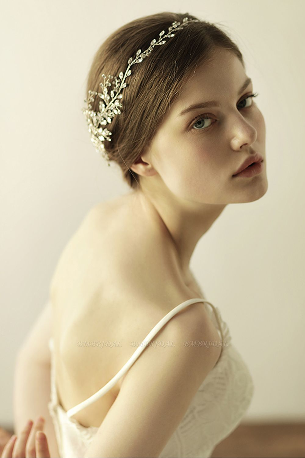 Glamourous Alloy Rhinestone Special Occasion Wedding Headbands Headpiece with Crystal