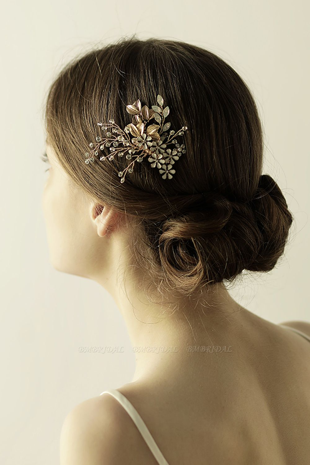 BMbridal Glamourous Alloy Rhinestone Daily Wear Combs-Barrettes Headpiece with Crystal