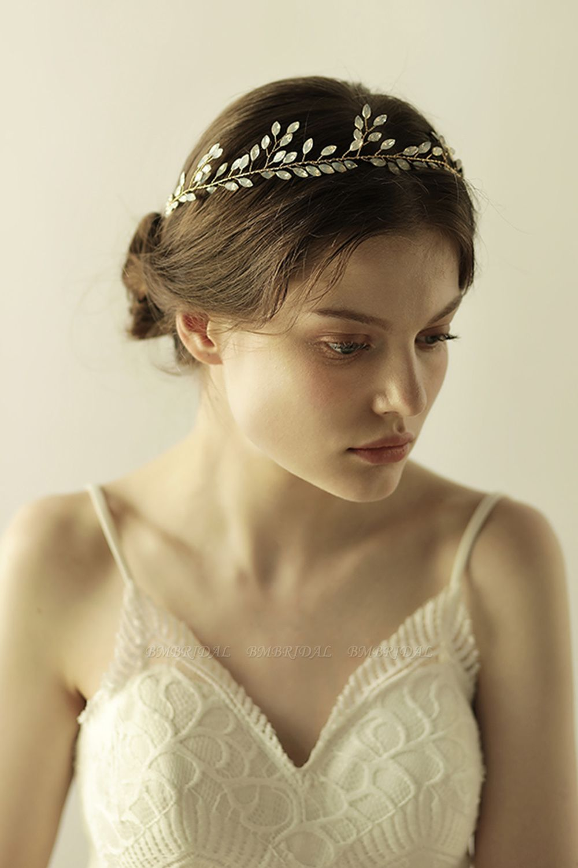 Elegant Alloy Party Headbands Headpiece with Crystal