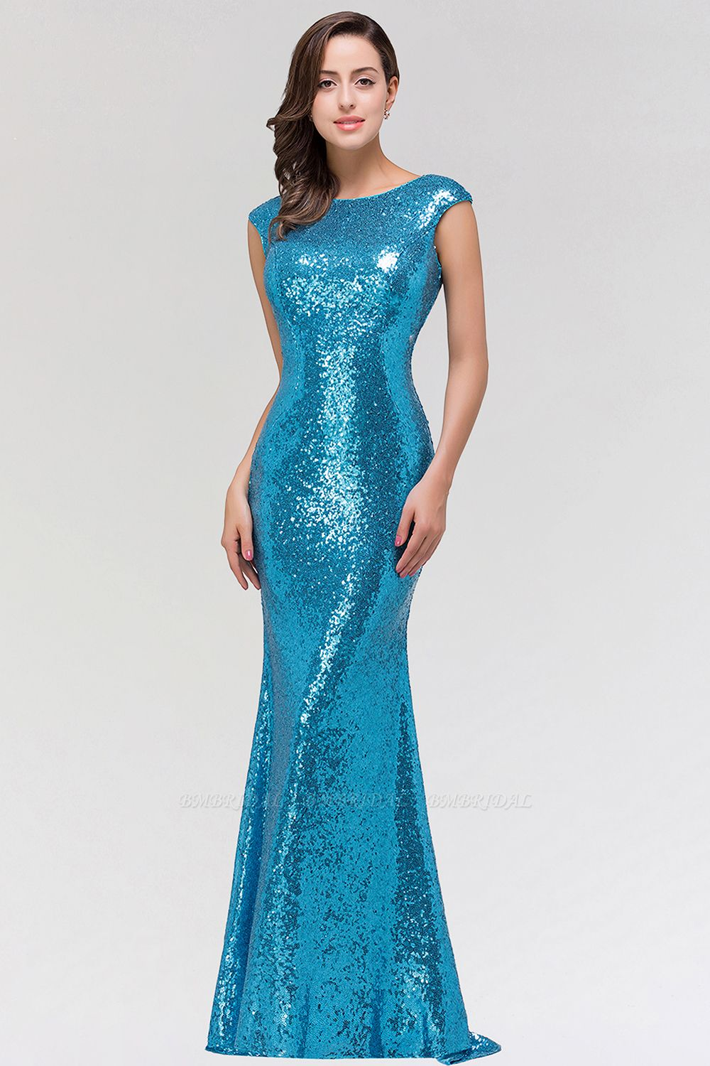 Mermaid Sequined Bridesmaid Dress