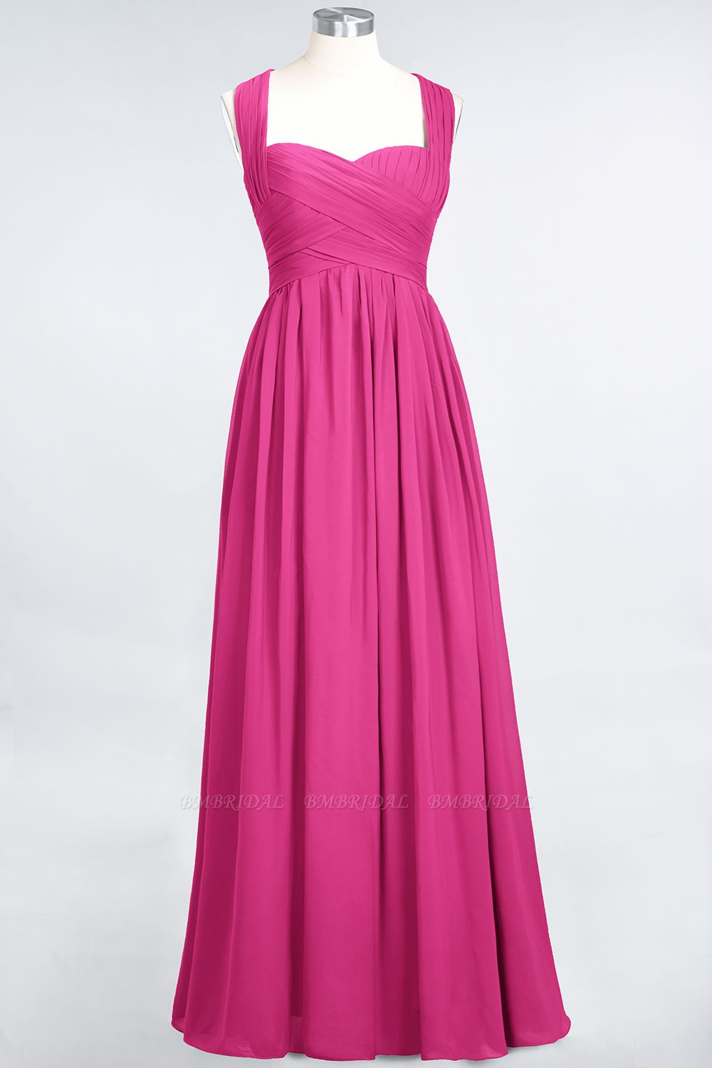 Chic Tiered Sweetheart Cap-Sleeves Bungurdy Bridesmaid Dresses