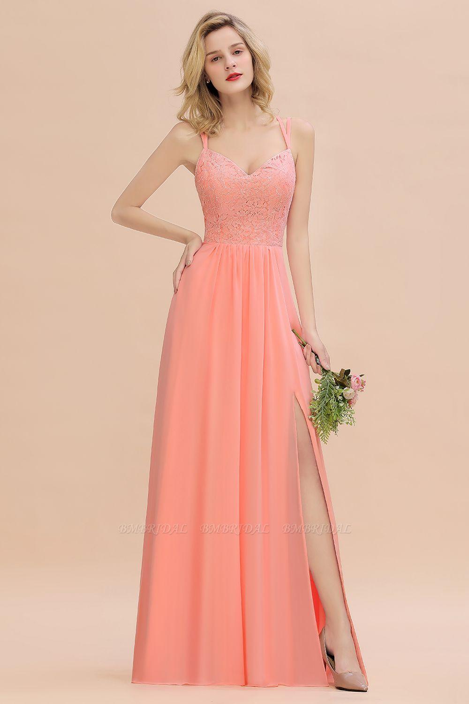 Try at Home Sample Bridesmaid Dress Coral Dusk