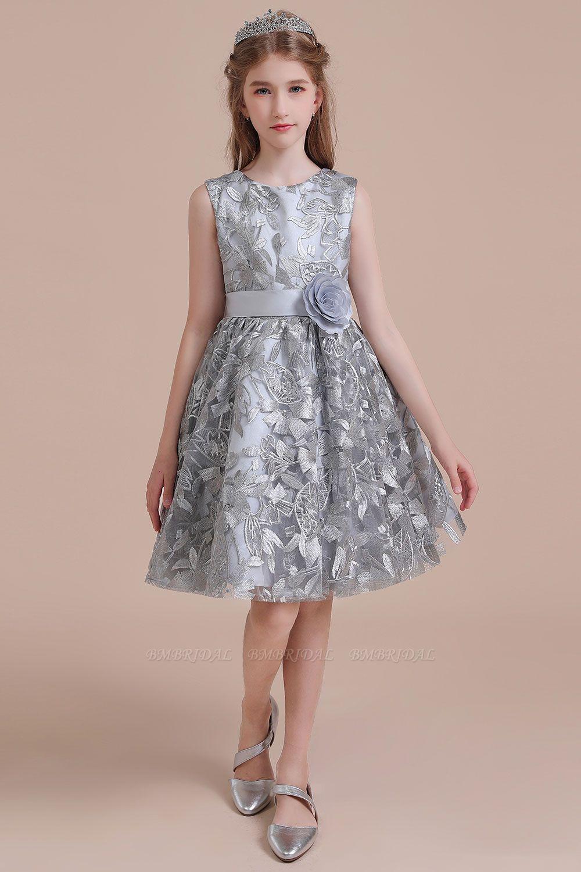 BMbridal A-Line Chic Bow Tulle Flower Girl Dress Online