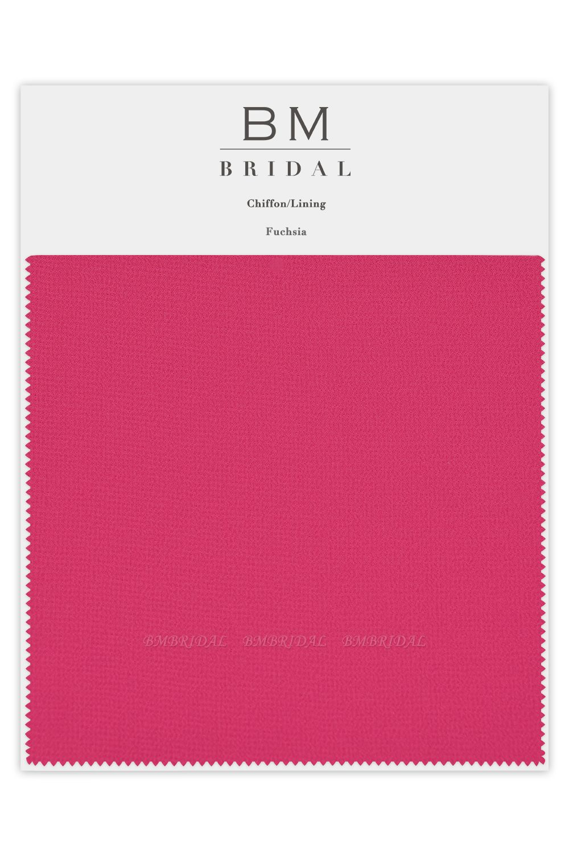 BMbridal Bridesmaid Chiffon Color Swatches