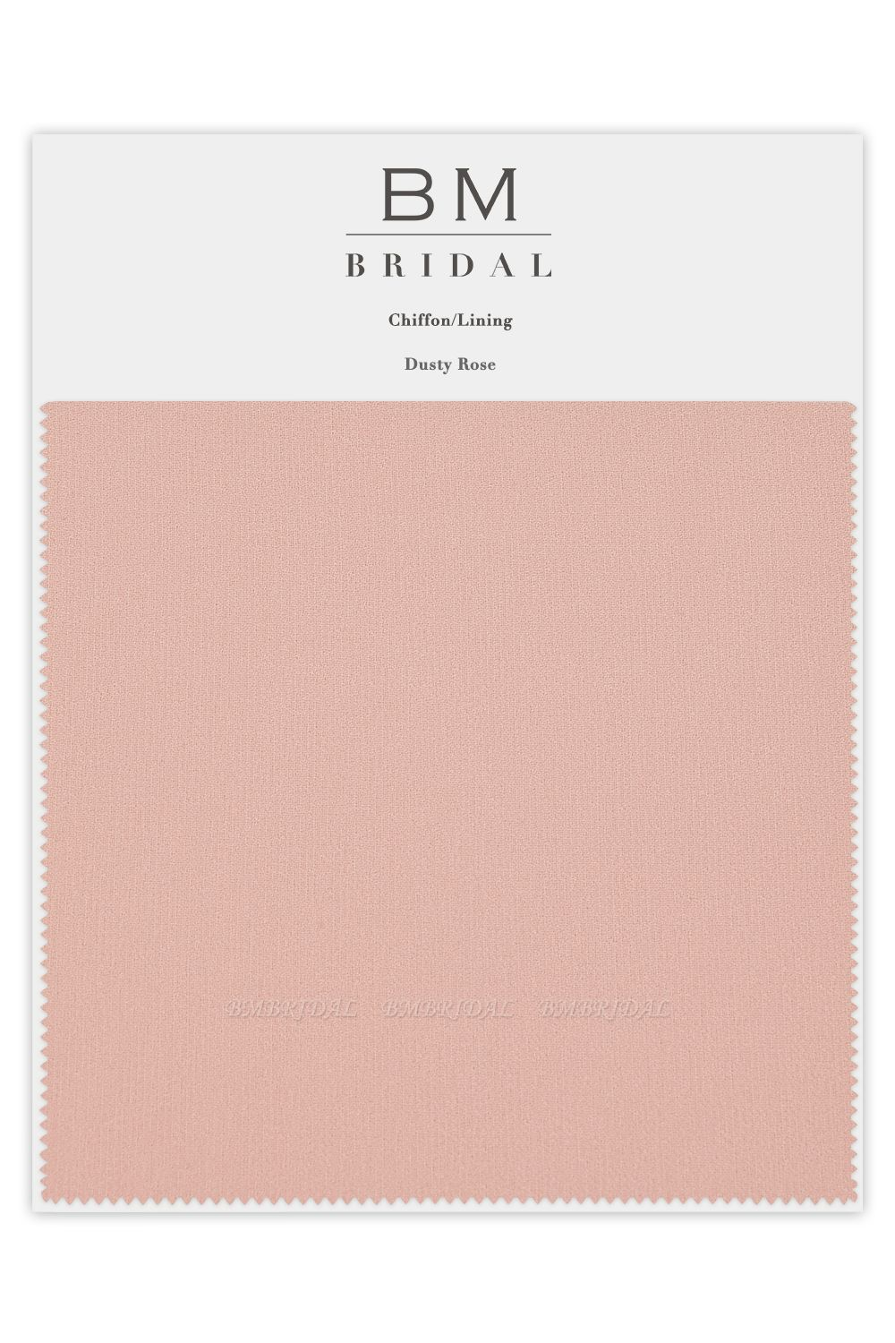 BMbridal Bridesmaid Chiffon Color Swatches