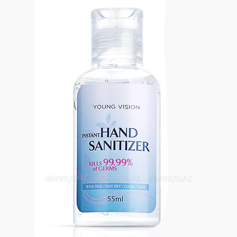 BMbridal 20 Bottles Young Vision Instant Hand Sanitizer 70% Alcohol (20 Bottles*55ml)