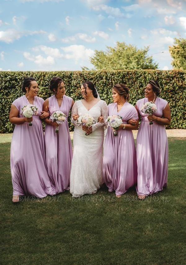 BMbridal Lilac Multiple A-Line Bridesmaid Dresses