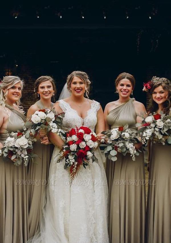 BMbridal Multiple A-Line Bridesmaid Dresses Long