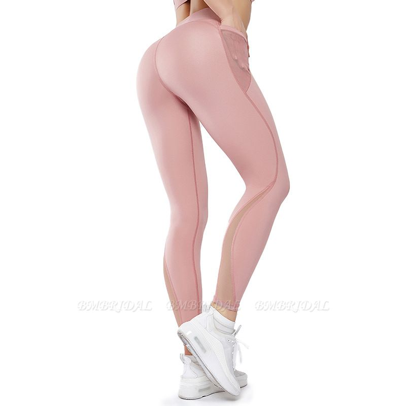 Patchwork Women Yoga Pants With Pocket High Waist Sports Gym Wear Leggings Fitness Girls Running Exercise Outfits