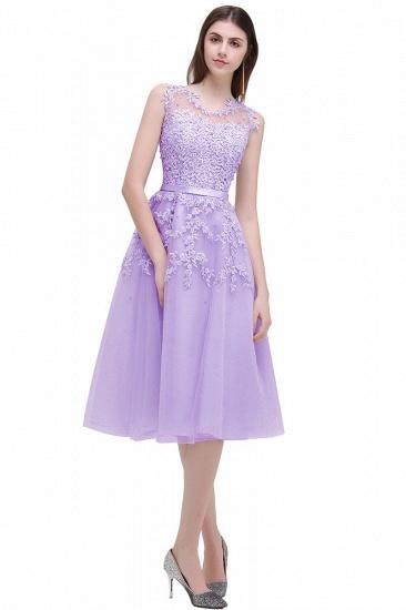 Gorgeous Sleeveless Lace Appliques Short Party Dress Online_6