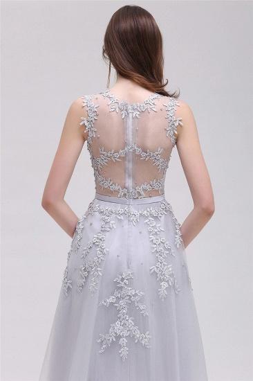 Gorgeous Sleeveless Lace Appliques Short Party Dress Online_4
