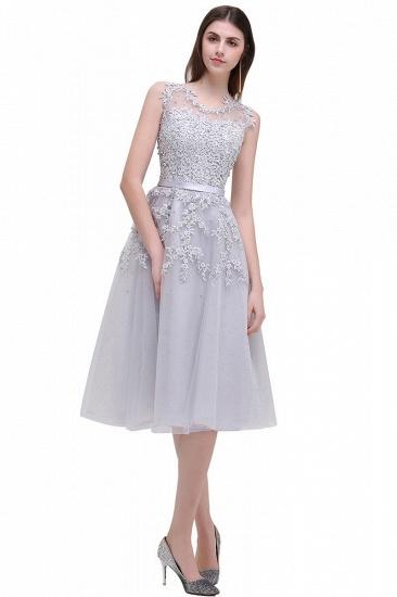 Gorgeous Sleeveless Lace Appliques Short Party Dress Online_2