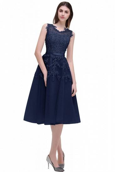Gorgeous Sleeveless Lace Appliques Short Party Dress Online_9