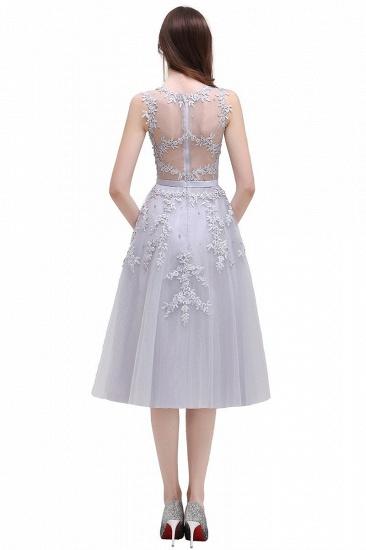 Gorgeous Sleeveless Lace Appliques Short Party Dress Online_3