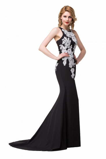 BMbridal Mermaid Evening With Appliques For Women Formal Long Prom Dress_6
