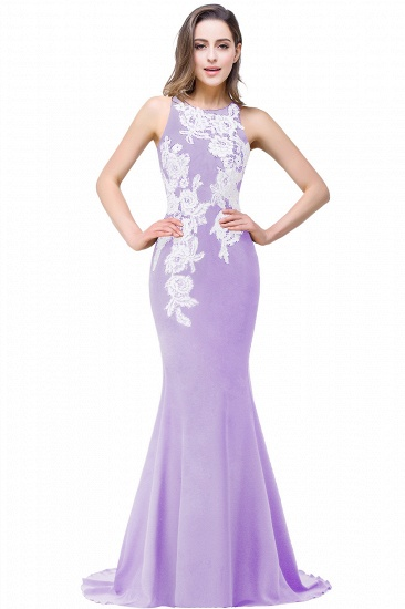 BMbridal Mermaid Evening With Appliques For Women Formal Long Prom Dress_2