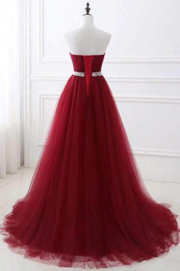 BMbridal modest sweetheart sleeveless beading a-line prom dress_10