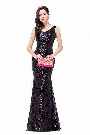 BMbridal Elegant Mermaid Prom Dress Beaded Backless Evening Dress_7