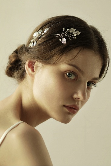 BMbridal Beautiful Alloy Daily Wear Hairpins Headpiece with Imitation Pearls_6
