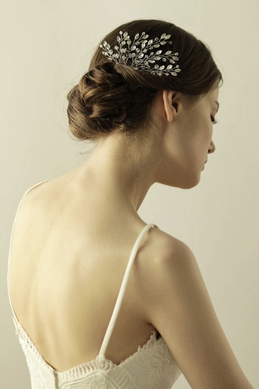 BMbridal Elegant Alloy Party Combs-Barrettes Headpiece with Crystal_3