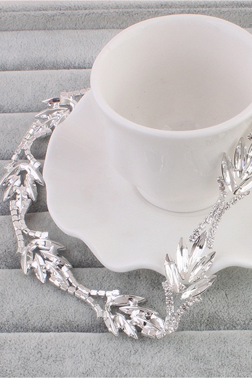 Glamourous Alloy Rhinestone Special Occasion Party Headbands Headpiece with Crystal_1