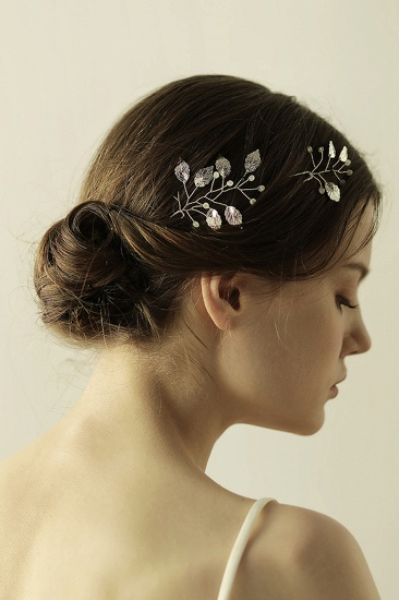 BMbridal Beautiful Alloy Daily Wear Hairpins Headpiece with Imitation Pearls_8