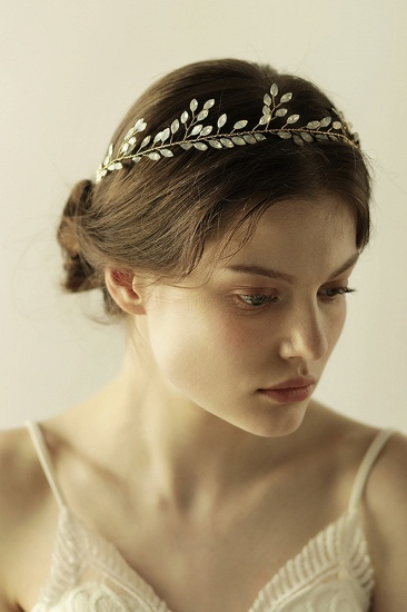 Elegant Alloy Party Headbands Headpiece with Crystal_4