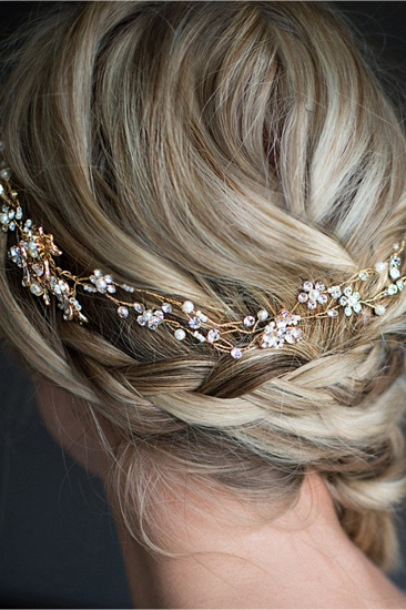 BMbridal Beautiful Alloy Imitation Pearls Special Occasion Hairpins Headpiece with Rhinestone_6