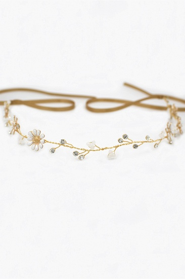 BMbridal Floral Alloy Party Headbands Headpiece with Rhinestone_9