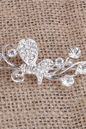 BMbridal Glamourous Alloy Special Occasion Party Hairpins Headpiece with Rhinestone_1