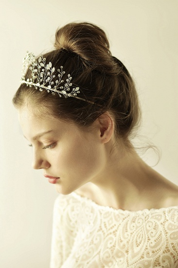 BMbridal Elegant Alloy Rhinestone Special Occasion Wedding Hairpins Headpiece with Crystal_7