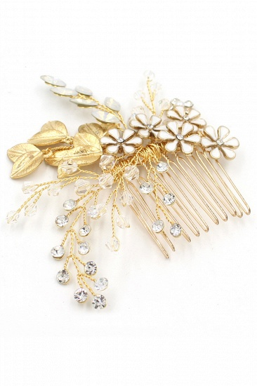 Glamourous Alloy Rhinestone Daily Wear Combs-Barrettes Headpiece with Crystal_10