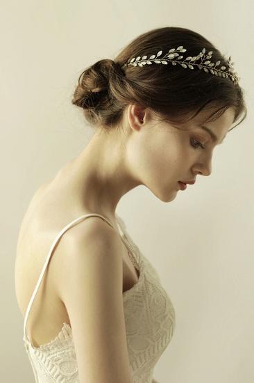 Elegant Alloy Party Headbands Headpiece with Crystal_8