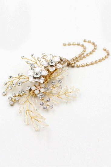 BMbridal Beautiful Alloy Special Occasion Hairpins Headpiece with Rhinestone_11