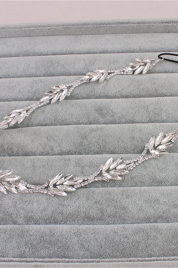 Glamourous Alloy Rhinestone Special Occasion Party Headbands Headpiece with Crystal_10
