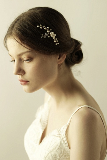 Pretty Alloy Daily Wear Hairpins Headpiece with Imitation Pearls_4