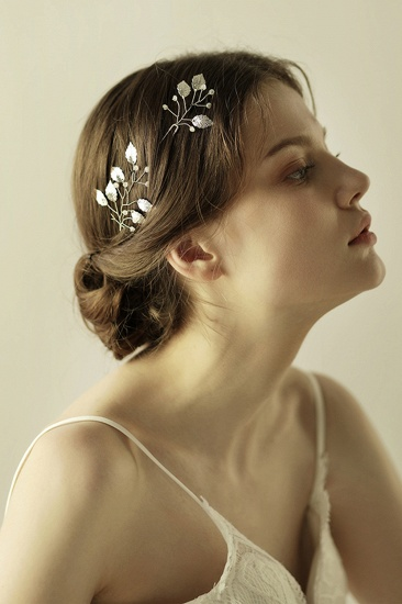 BMbridal Beautiful Alloy Daily Wear Hairpins Headpiece with Imitation Pearls_4
