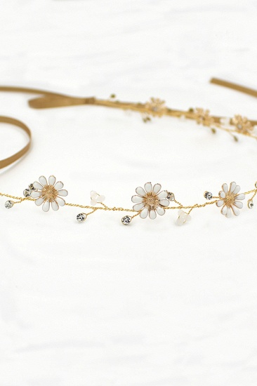 BMbridal Floral Alloy Party Headbands Headpiece with Rhinestone_10