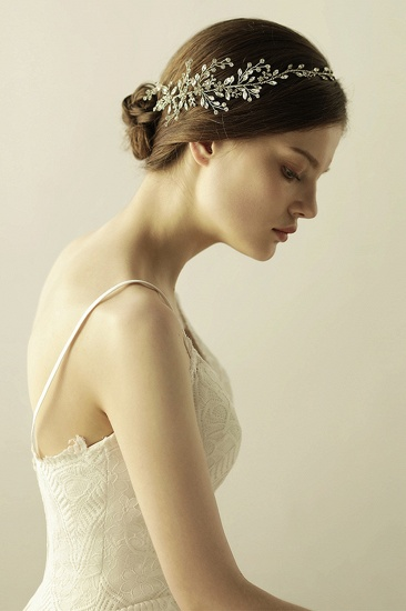 Glamourous Alloy Rhinestone Special Occasion Wedding Headbands Headpiece with Crystal_6