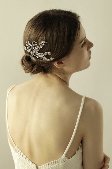 BMbridal Elegant Alloy Party Combs-Barrettes Headpiece with Crystal_4