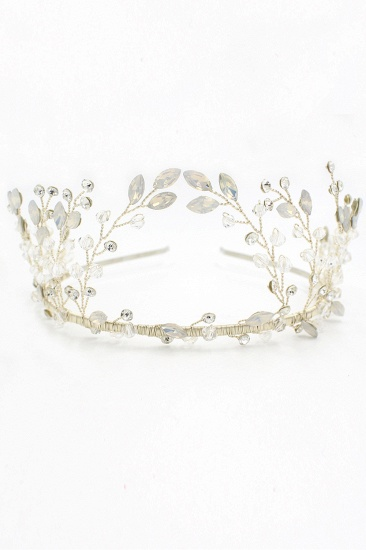 BMbridal Elegant Alloy Rhinestone Special Occasion Wedding Hairpins Headpiece with Crystal_12